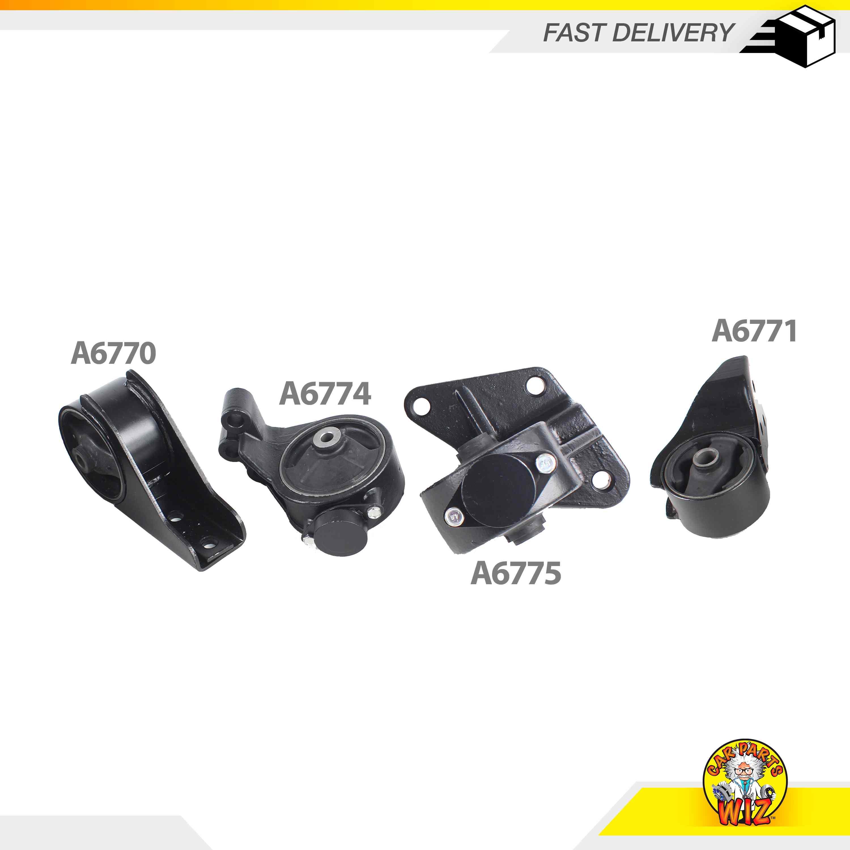 Engine Motor Mounts Front Rear Set Kit 3.5 L For Kia Sedona