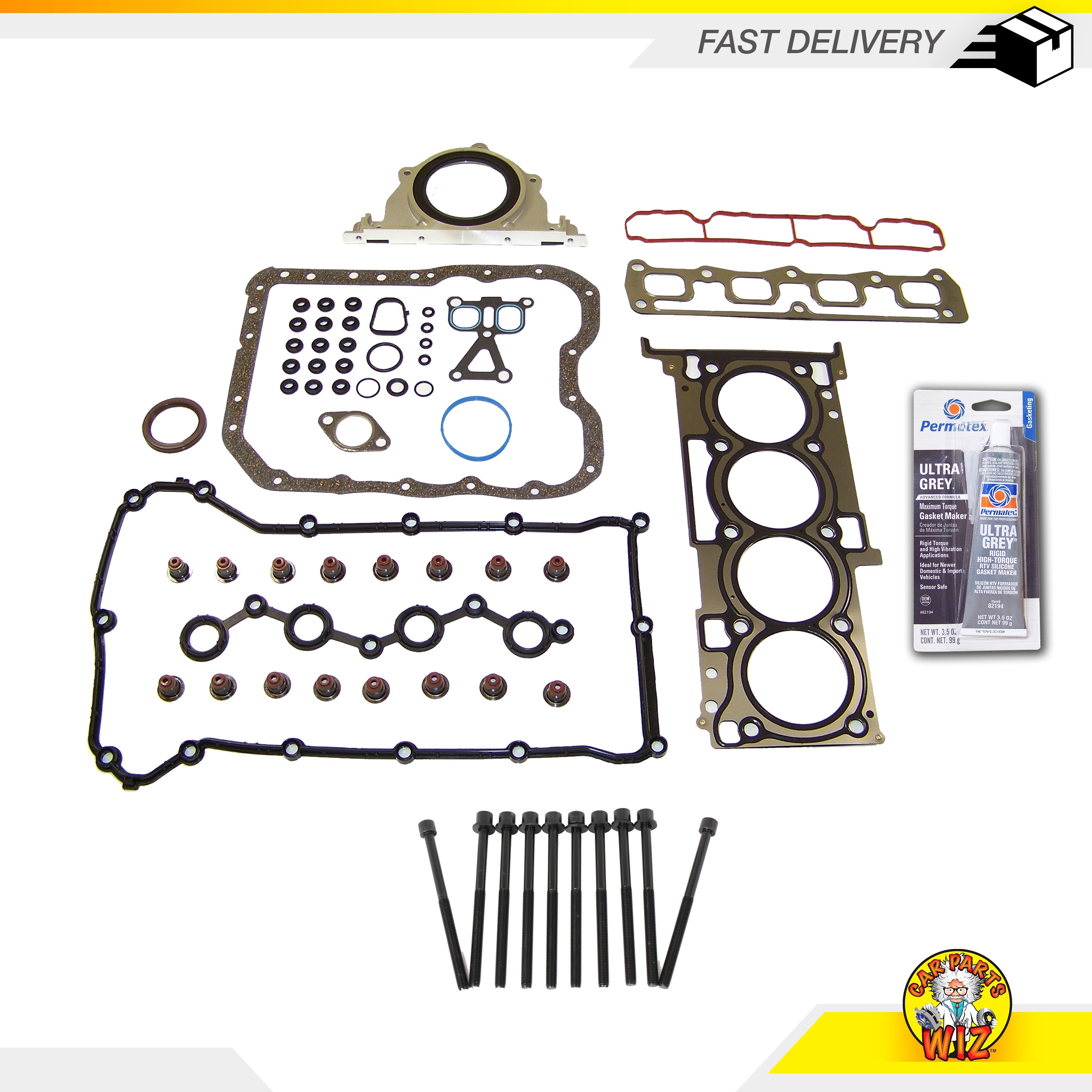 TUPARTS Automotive Head Gasket Sets Replacement for Chrysler 200 2.4 L