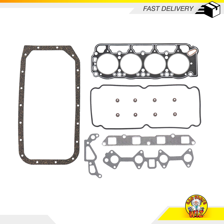 DNJ FGS9011 Graphite Full Gasket Set For 81-82 Toyota Corolla 1.8L L4 OHV 8v