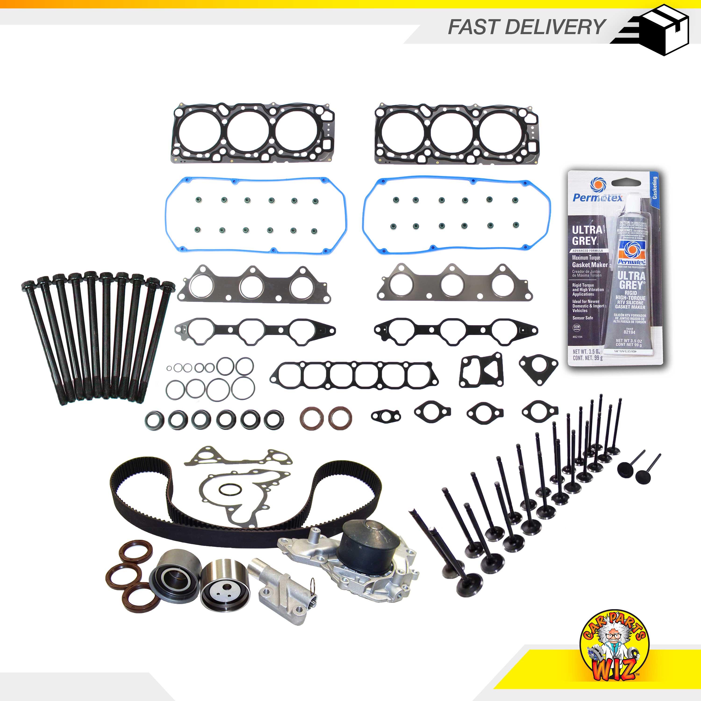 Head Gasket Set Timing Belt Kit Fit 99-05 Mitsubishi Dodge 3.0 6G72