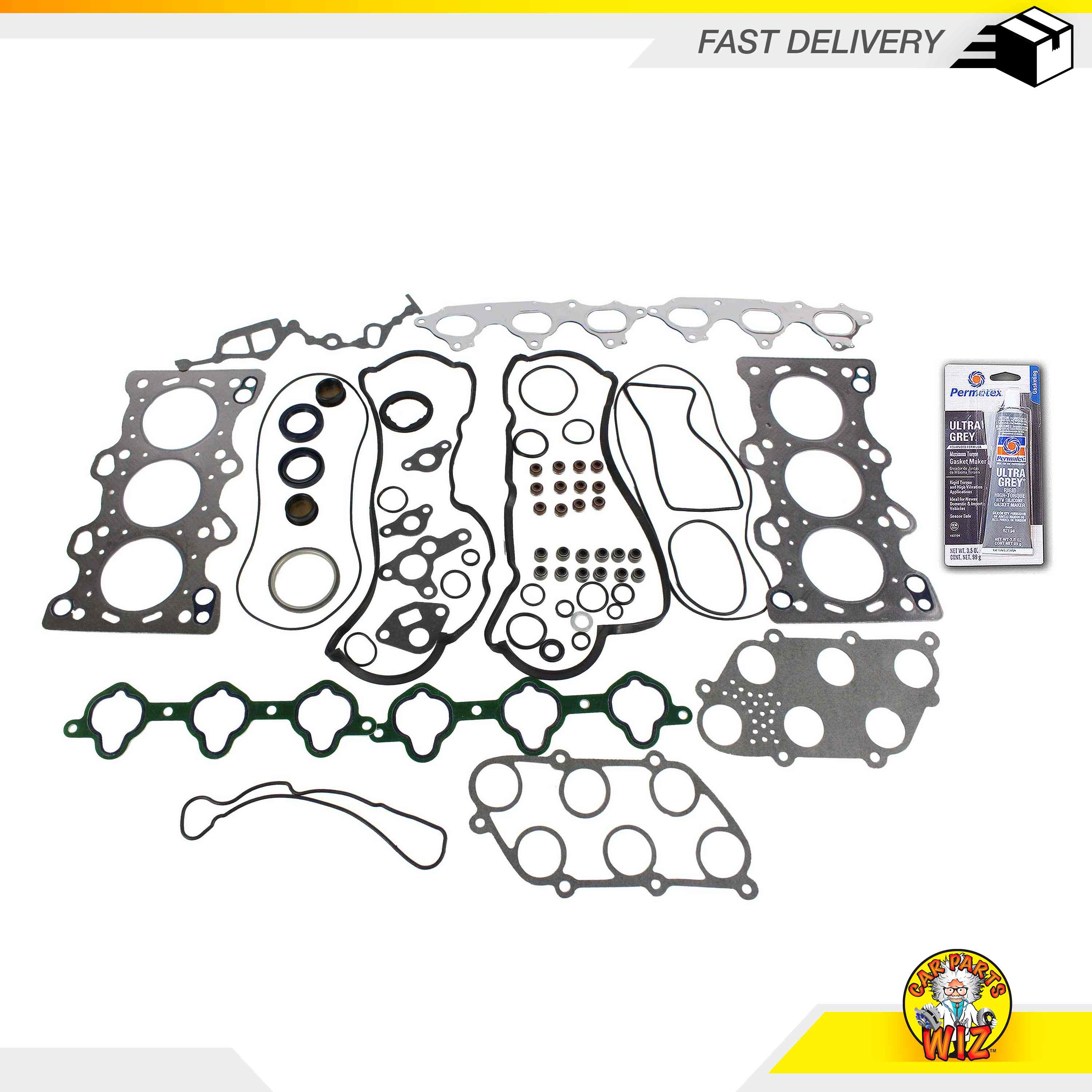 Graphite Head Gasket Set Fits 86-88 Acura Sterling 825
