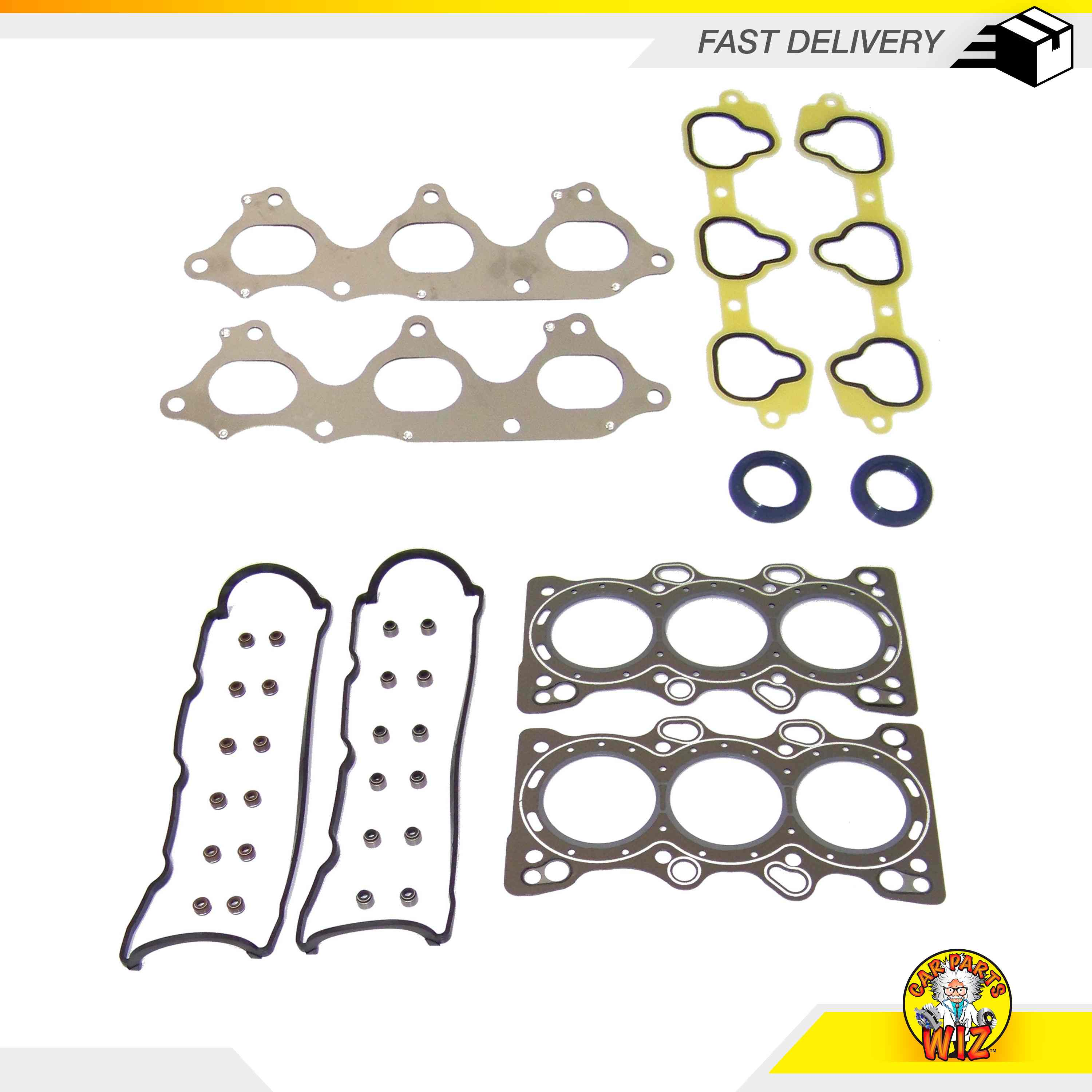 Graphite Head Gasket Set Fits 87-91 Acura Sterling 827