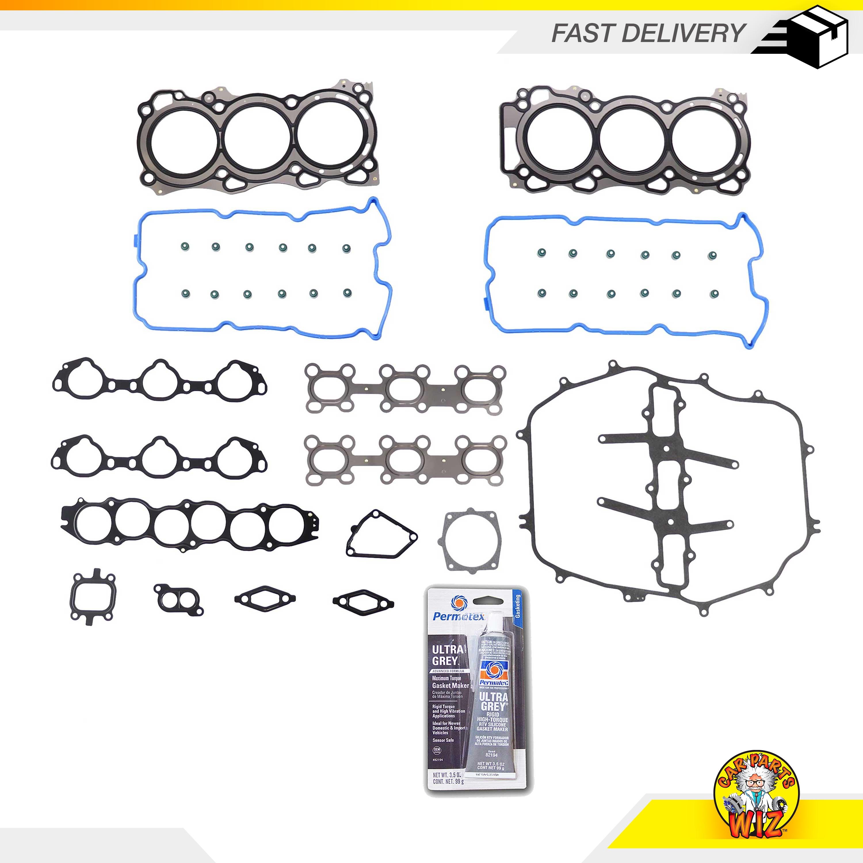 mazda 3 0 v6 engine diagram head casket mls head gasket set fits 03 08 infiniti nissan 350z fx35 3 5l v6  infiniti nissan 350z fx35 3 5l v6
