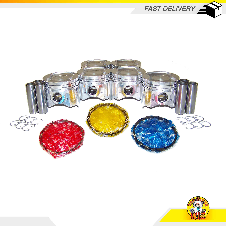 Piston Ring Set Fits 86-92 Toyota Cressida Supra 3.0L L6 DOHC 24v