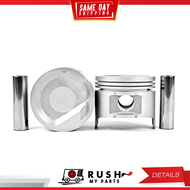 DNJ PR305.40 Oversize Piston Ring Set For 88-97 Isuzu Amigo 2.0L L4 SOHC 8v