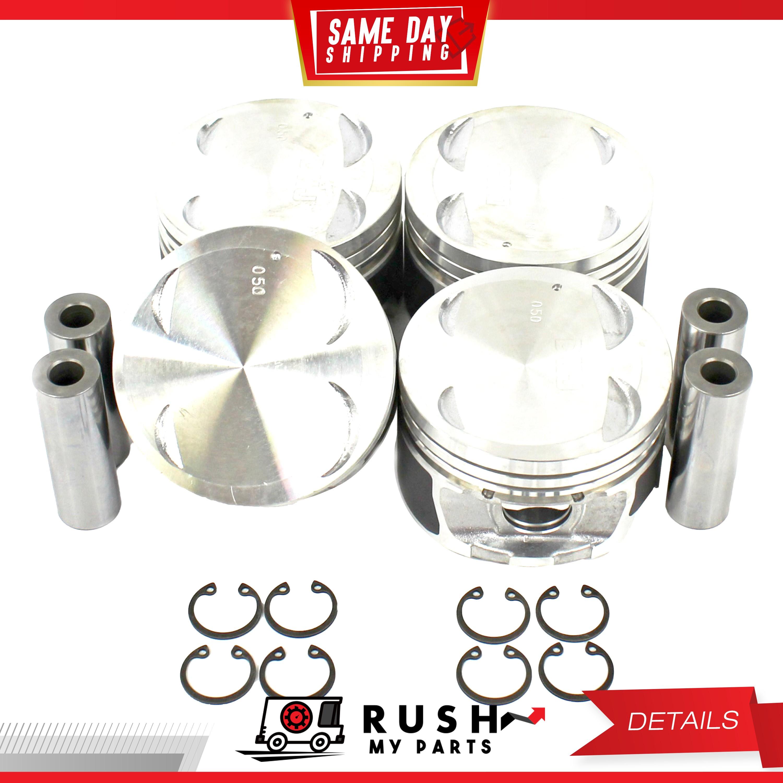 Piston Ring Set Fits 98-01 Kia Sephia Spectra 1.8L L4 DOHC 16v