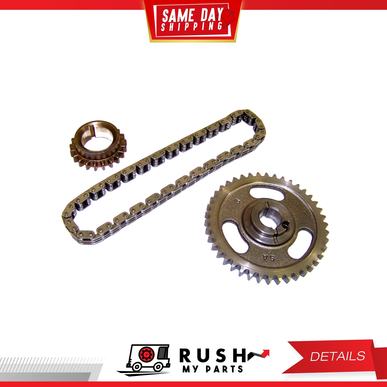 DNJ TK4113 Timing Chain Kit For 84-01 Ford Lincoln Bronco Capri 5.0L V8 OHV 16v